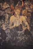 Mural Painting of Padmapani in Ajanta (Cave 1) — Stock Photo