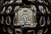 Jain buddha statue in jaisalmer, india  — Stock Photo
