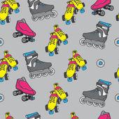 Roller skate — Stock Vector
