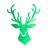 Deer head — Stock Vector