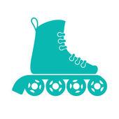 Roller skates — Stock Vector
