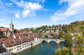 View on the bridge in Berne — Stock Photo