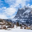 ������, ������: Wetterhorn of Grindelwald in Winter