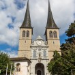 The Hof church in Lucerne in Switzerland — Stock Photo #60887045