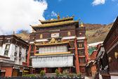 Tashilhunpo Monastery in Shigatse — Foto Stock