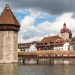 View of the old town of Lucerne — Stock Photo #63630307