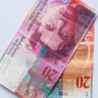 Banknote - 20 Swiss Francs — Stock Photo #64494045
