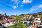 View on the bridge in Berne — Stock Photo