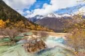 Huanlong national park in Sichuan Province, China — Stock Photo