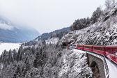 Glacier express, Switzerland — Stock Photo