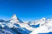 Matterhorn and Weisshorn — Stock Photo
