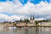 Lucerne cityscape — Stock Photo