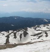 在土耳其的山。在上面的雪. — 图库照片