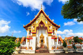 Chalong temple — Stock Photo