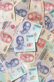 Various Vietnamese Currency — Stock Photo