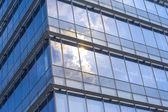 Sunlight reflect on the glass wall — Stock Photo