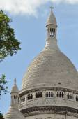 Sacre Coeur, old and famous church in Paris — Стоковое фото
