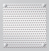 Silver Metal grid — Vector de stock