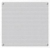 Silver Metal grid — Stockvector