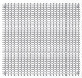 Silver Metal grid — Stock Vector