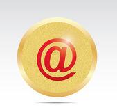 E-mail sign icon — Stock Vector