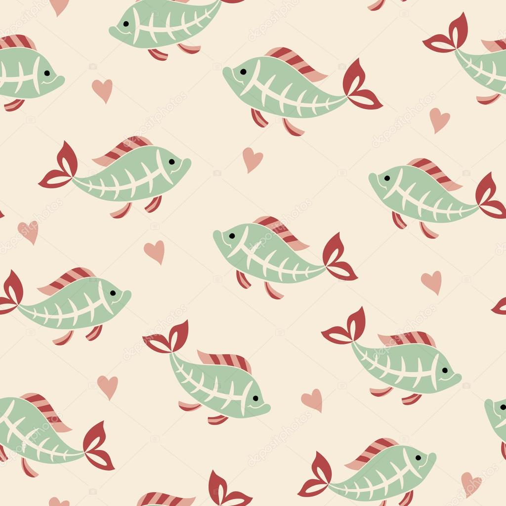 Mod le sans couture poisson tetra de rayons x image vectorielle coffeee in 95736132 - Modele poisson ...