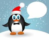 Feliz Navidad paisaje. Feliz año nuevo Vector — Vector de stock