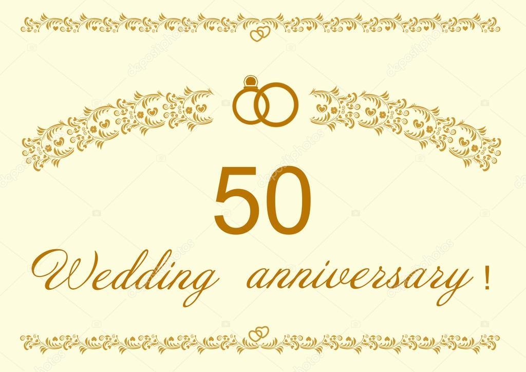 Inviti Per Il 50 Anniversario Da Scaricare Fanorthdeco Gq