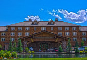 Sun Valley Lodge — Stock Photo
