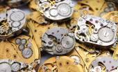 Watch movements steampunk — Stockfoto