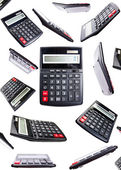 Isolated clip-art calculators — Stock Photo