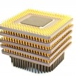 CPU Virus processors — Stock Photo #60644597