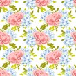Floral seamless pattern — Stock Vector #60916789