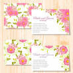 Wedding invitation cards — Stock Vector #60924151
