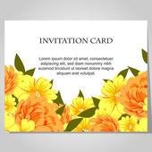 Beautiful invitation card — Διανυσματικό Αρχείο