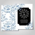 Wedding invitation card — Stock Vector #66400997