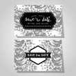 Wedding invitation cards — Stock Vector #66402771