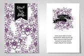 Wedding invitation cards — Διανυσματικό Αρχείο