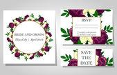 Προσκλητήρια γάμου — Διανυσματικό Αρχείο