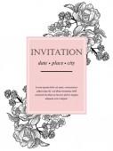 Wedding invitation cards — 图库矢量图片