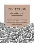 Wedding invitation cards — Wektor stockowy