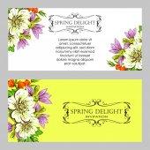 Wedding invitation card — Stockvektor