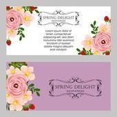 Wedding invitation card — 图库矢量图片
