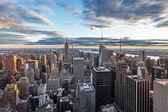 New York City from Rockefeller center — Stock Photo