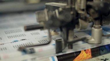 Printing technology. — Stock Video