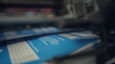 Industrial printing — Stock Video