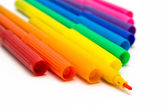 Set of markers rainbow colors — Stockfoto