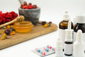 Alternative and traditional medicine — Foto de Stock