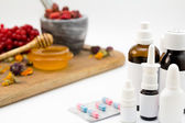 Alternative and traditional medicine — Stock Photo
