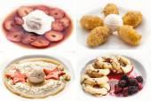 Set of tasty desserts — Stock Photo